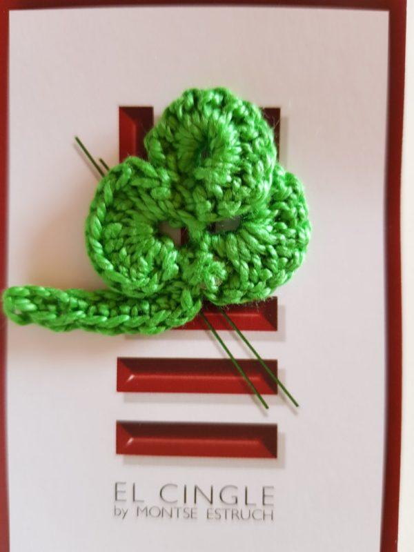 Colección flores a crochet Trebol