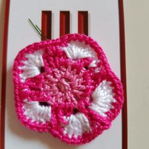 Colección flores a crochet Clavelina