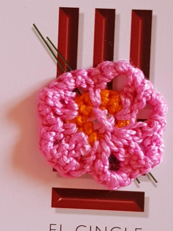 Flor de crochet edición especial