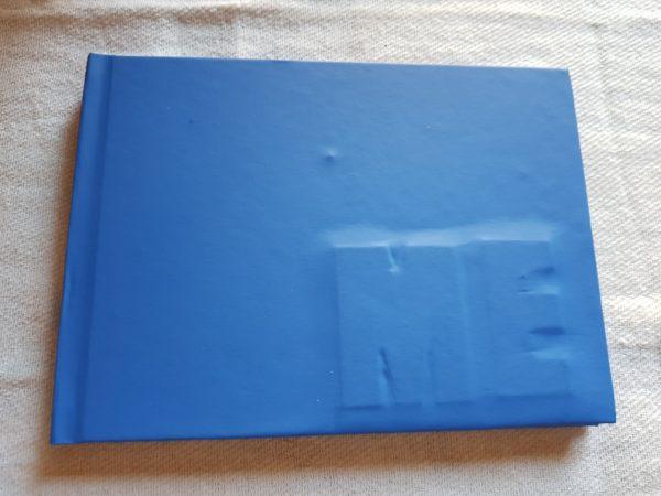 Libro de cocina , edición única de 5 ejemplares, encuadernado a mano, con recetas de Montse Estruch