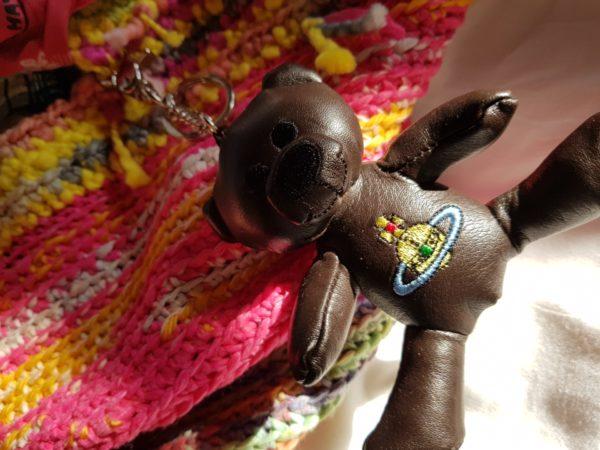 Detalle del oso de Piel de la Bolsa Hawuai