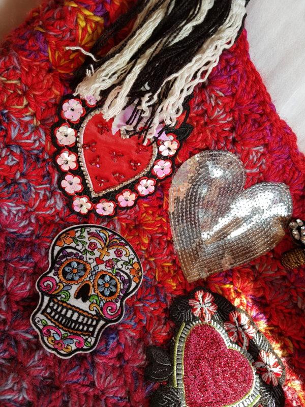 Detalle dela bolsa Frida