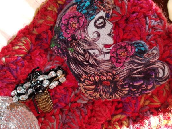 Detalle de la bolsa Frida