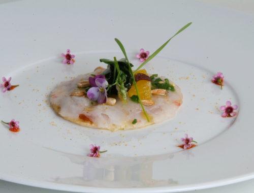 Tarta fina de gambas, receta por Montse Estruch