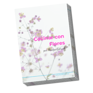 Cocinar con flores por Montse Estruch - portada e-book