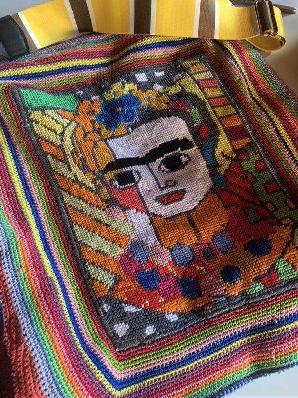Bolso único hecho a mano por Montse Estruch - Frida Mexico